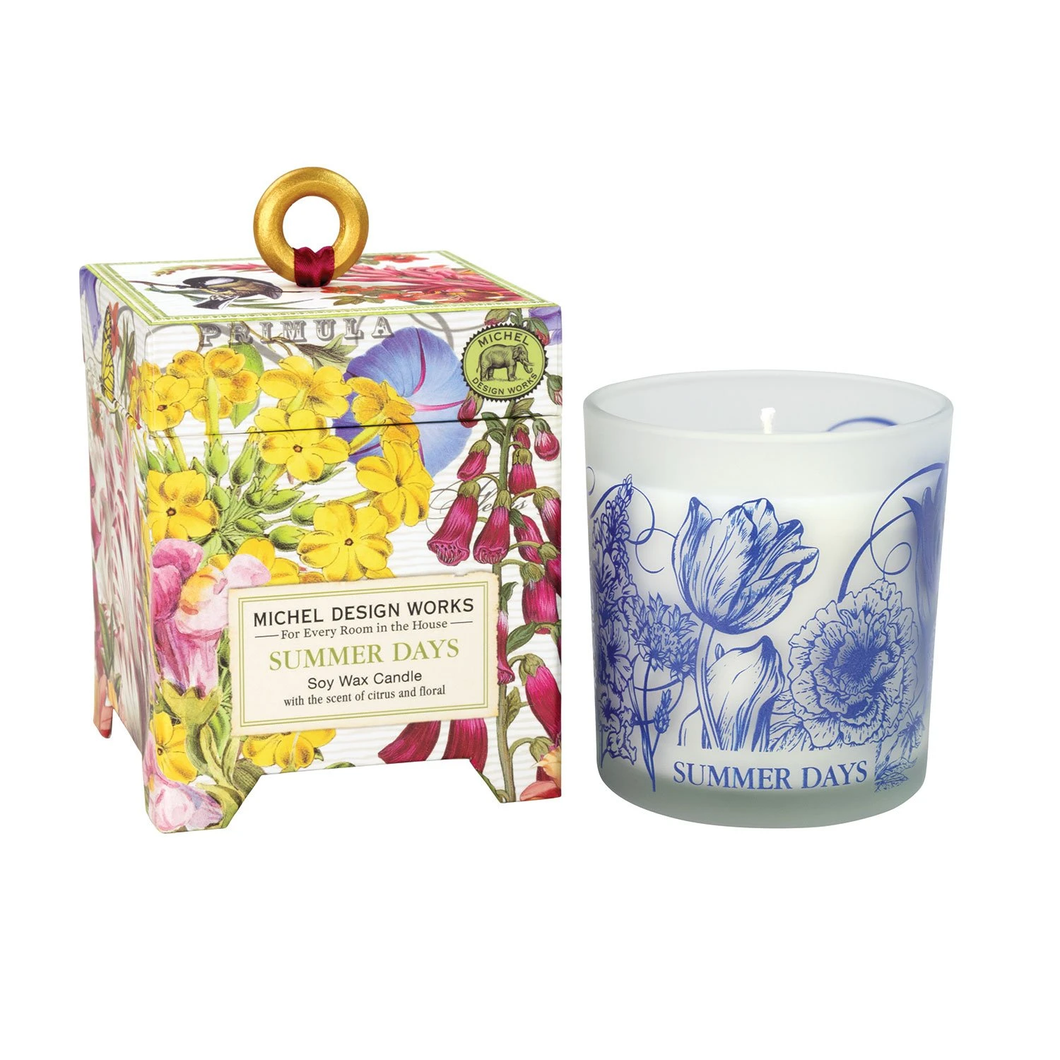 Summer Days 6.5 oz. Soy Wax Candle by Michel Design Works