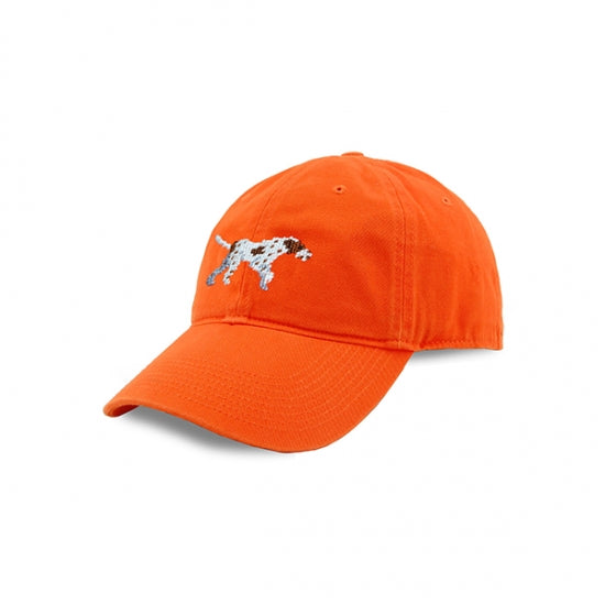 Smathers & Branson Needle Point Orange Pointer Hat