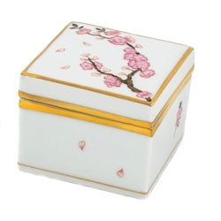 Herend Cherry Blossom Square Box