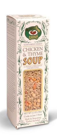 Chicken N Thyme Soup - Buckeye Beans and Herbs - 12oz