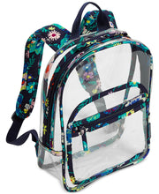Load image into Gallery viewer, Vera Bradley Clearly Colorful Stadium Backpack - Moonlight Garden