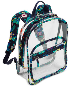 Vera Bradley Clearly Colorful Stadium Backpack - Moonlight Garden