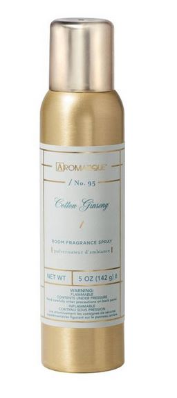 Aromatique Cotton Ginseng Aerosol Room Spray