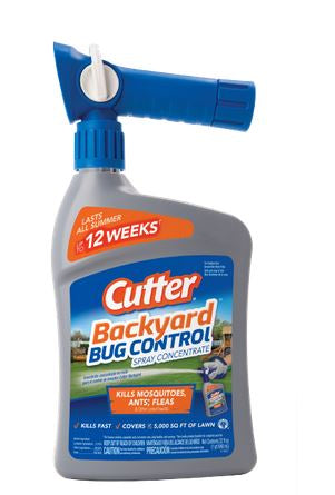 Cutter Backyard Bug Control, Spray Concentrate