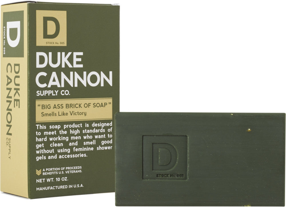 Duke Cannon Big Brick of Soap - Smells Like Victory