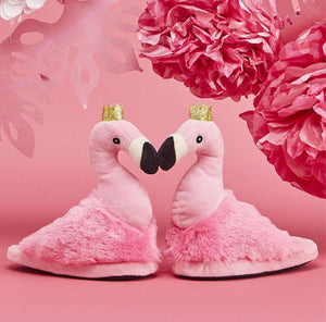 Flock Star Flamingo Super Soft Children's Slippers