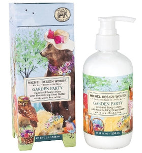 Garden Party Hand and Body Lotion with Moisturizing Shea Butter by Michel Design Works