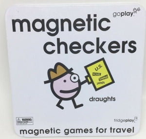 Magnetic Checkers - Travel Game