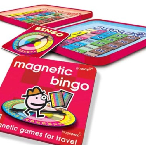 Magnetic Bingo - Travel Game
