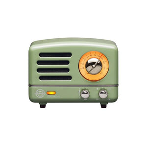 Mint Green Metal Radio & Bluetooth Speaker