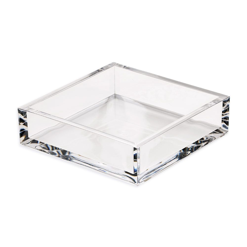 Acrylic Luncheon Napkin Holder in Crystal Clear