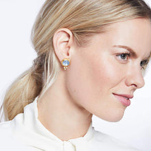 Load image into Gallery viewer, Julie Voss Mirren Stud Earrings - Iridescent Rose