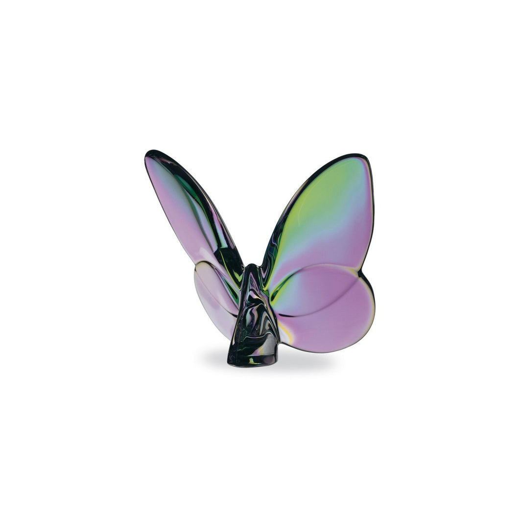 Baccarat Papillon Lucky Butterfly Iridescent clear
