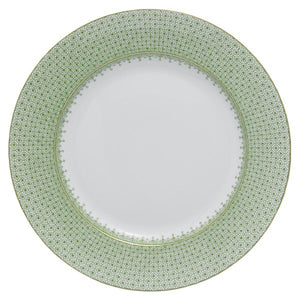 Mottahedeh Green Apple Lace Dinner Plate