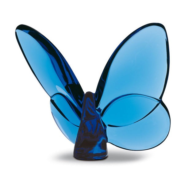 Baccarat Papillon Lucky Butterfly Blue