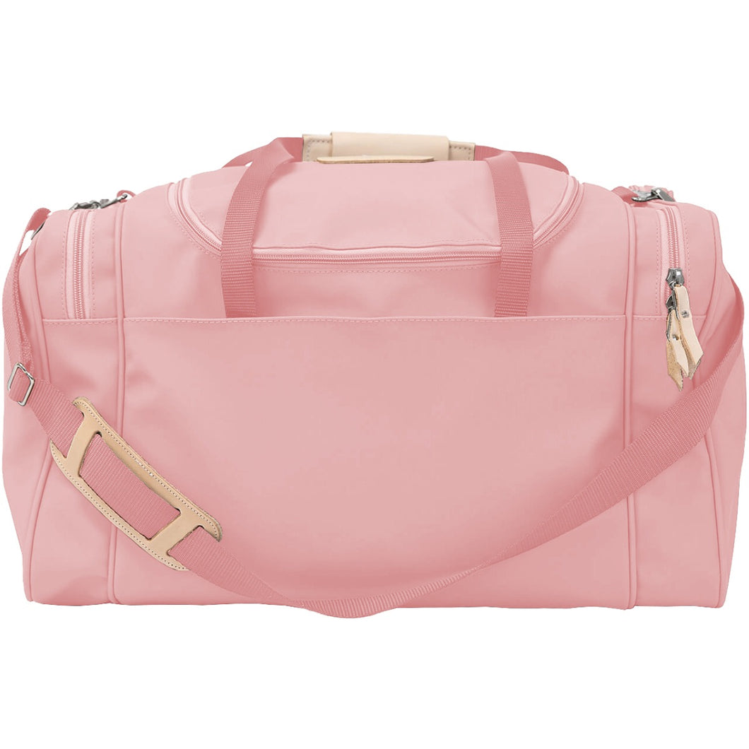 Jon Hart Medium Square Duffel with Monogram - Rose