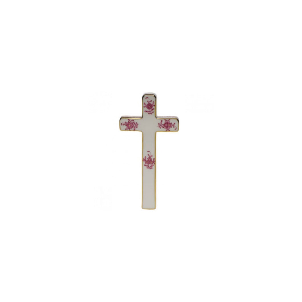 Herend Chinese Bouquet Raspberry Cross