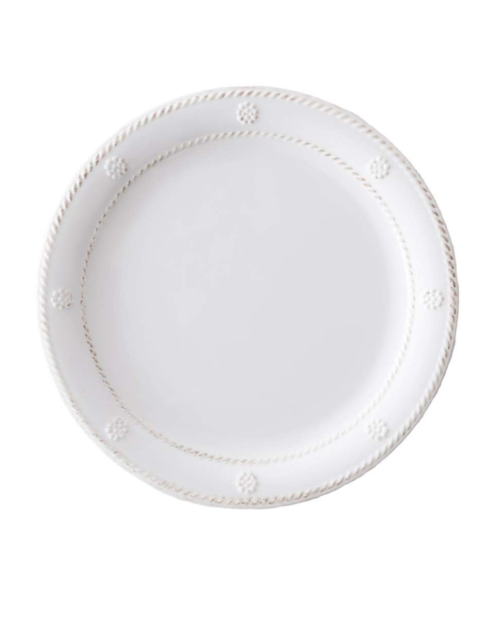 Juliska Melamine Berry & Thread Whitewash Dessert/Salad Plate