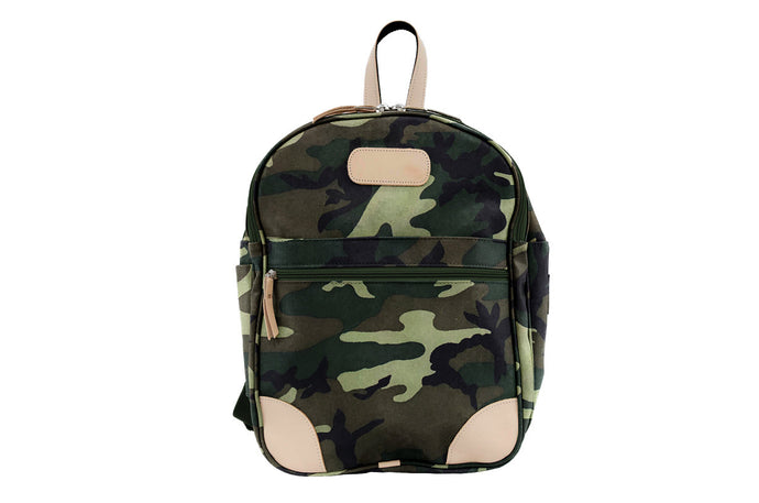 Jon Hart Large Backpack with Monogram - Camo