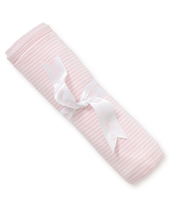 Kissy Kissy, Simple Stripes Blanket, Pink