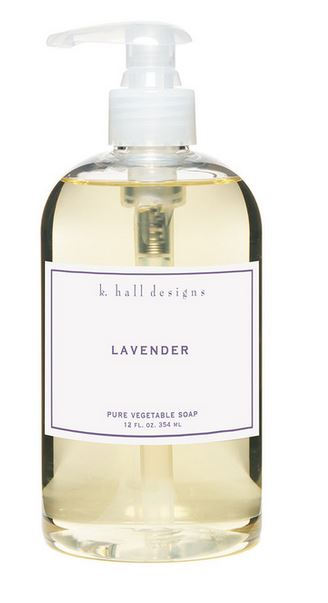 Lavender Liquid Hand Soap by K. Hall Designs