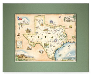 Texas Mini Map