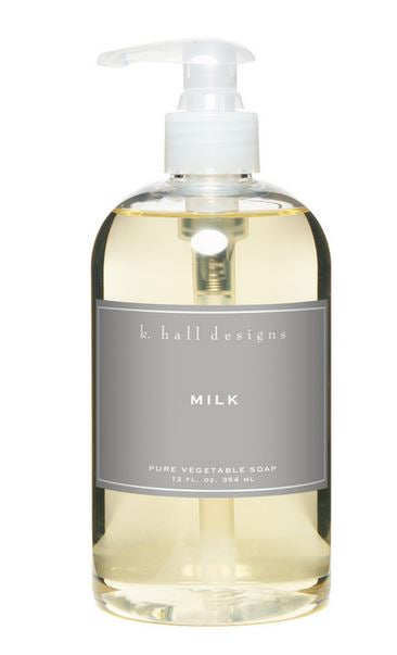 Milk Liquid Hand Soap by K. Hall Designs