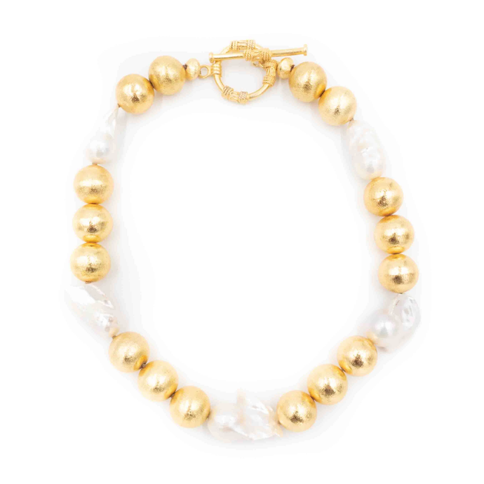 Hazen & Co. - Annabelle Necklace, White Pearl