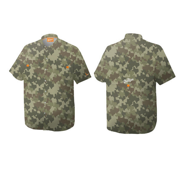 Old Tejas Camouflage Shirt - Field Olive