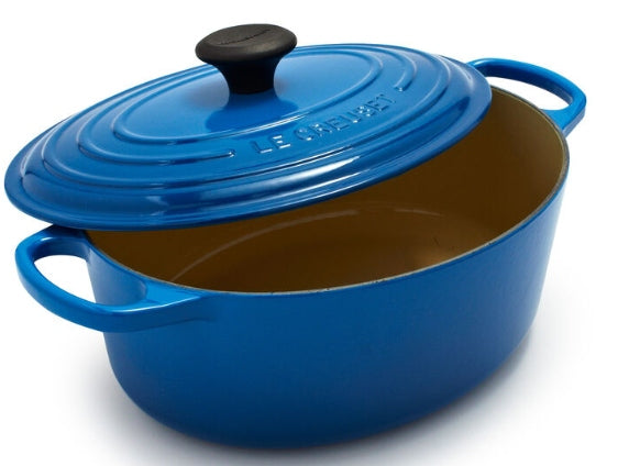 Le Creuset - 5 QT Sig Oval Oven in Marsielle