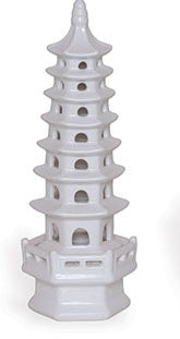 Small White Pagoda Tall