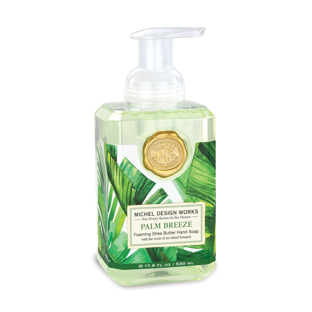 Palm Breeze Foaming Hand Soap by Michel Design Works