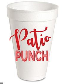 Patio Punch - Styrofoam Cups
