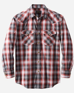 Pendleton Frontier Shirt - Red Plaid