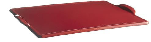 Emile Henry Rectangular Pizza Stone - Burgundy