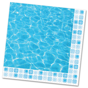 Poolside Lunch Napkins, Design Designs