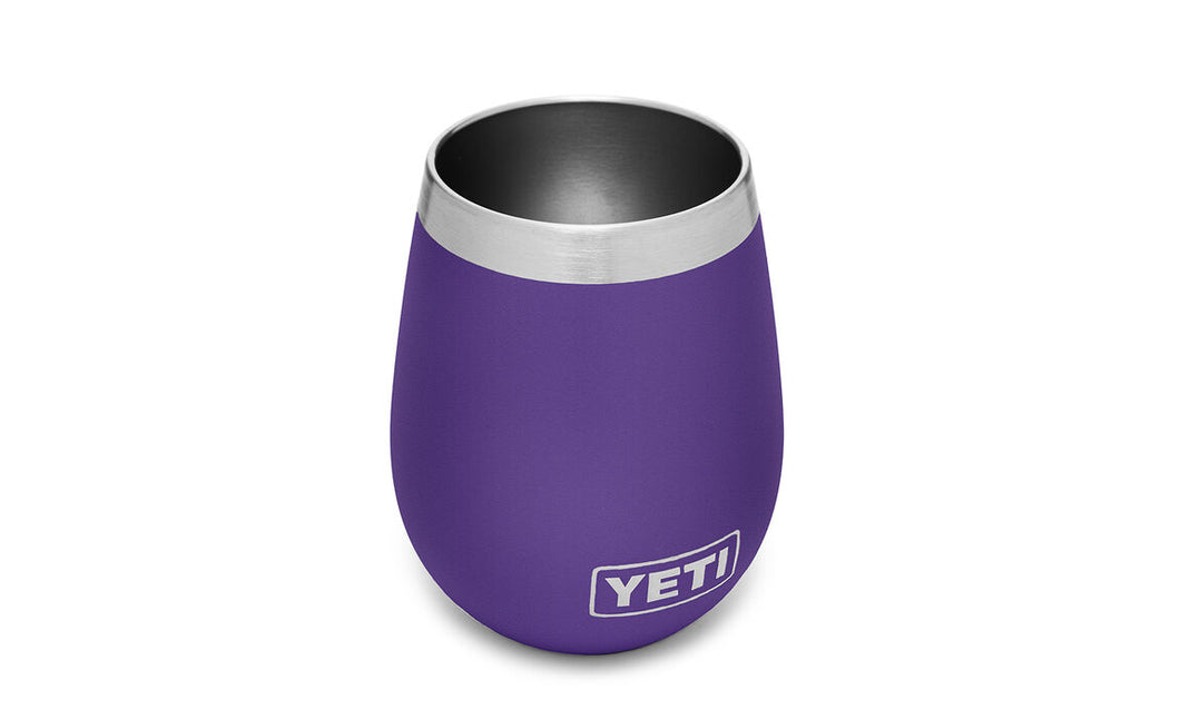 Yeti Rambler 10 Wine Tumbler - Peak Purple