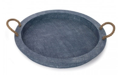 Aegean Indigo Serving Tray