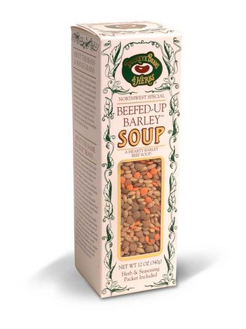 Beefed Up Barley Soup - Buckeye Beans and Herbs - 12oz