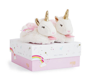 Doudou et Compagnie Unicorn­ Slippers - Booties
