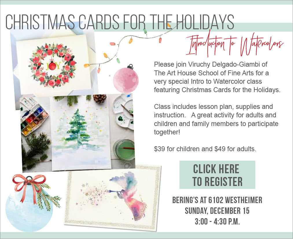 Introduction to Watercolors Class - Child's Ticket