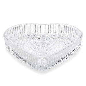 "Waterford Special 8"" Heart Tray"