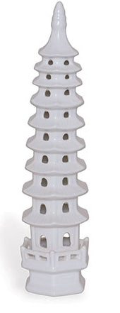 Pagoda White Large Tall
