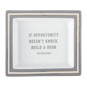 Wise Sayings Desk Tray - Milton Berle Quote