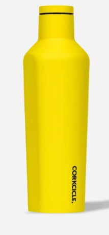 Corkcicle Canteen - 25Oz Neon Yellow