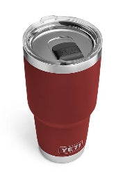 YETI Rambler 30 OZ in Brick Red with Magslider Lid