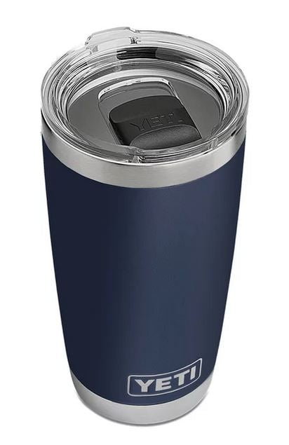 Rambler 20 oz Tumbler with MagSlider Lid - NAVY