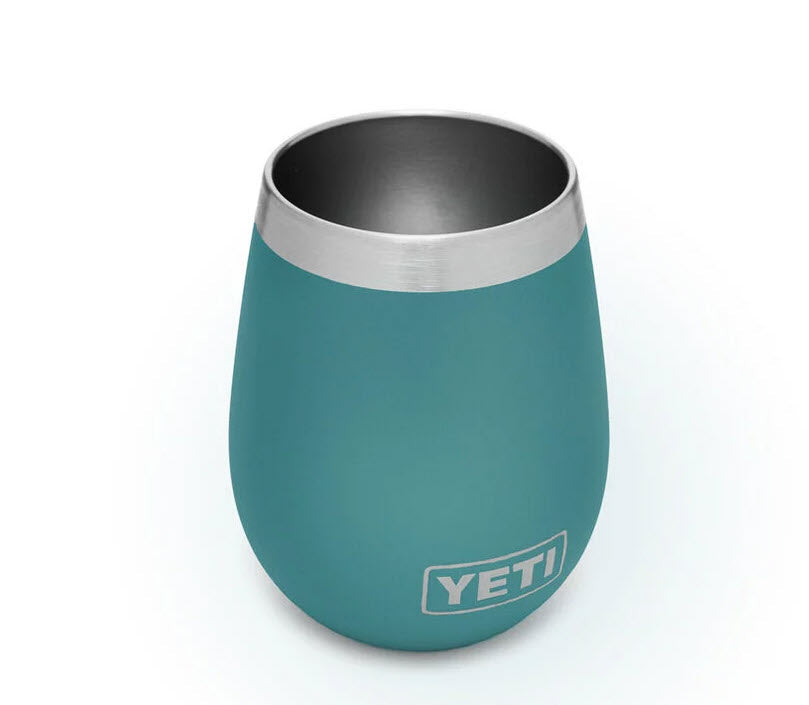 YETI River Green 10 ounce Wine Tumbler