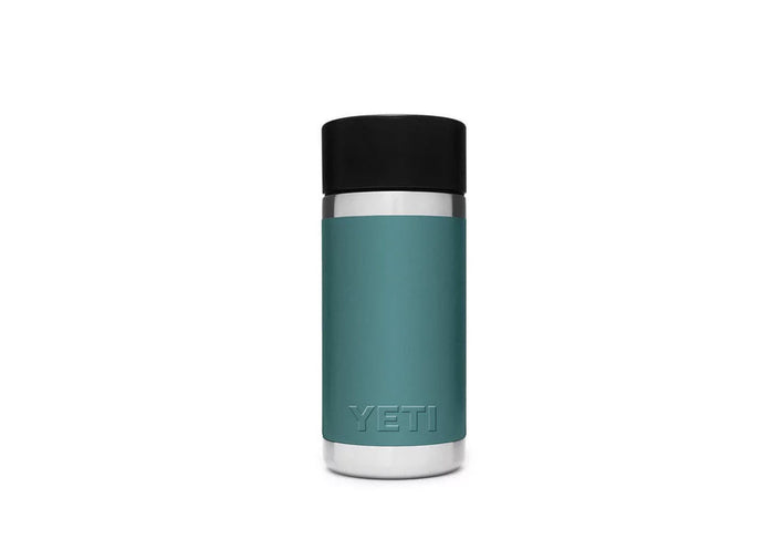 YETI River Green 12 ounce Bottle with Hot Shot Cap