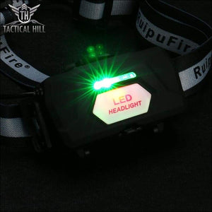 4000 Lumens Rechargeable LED Headlamp - Green Charge LED